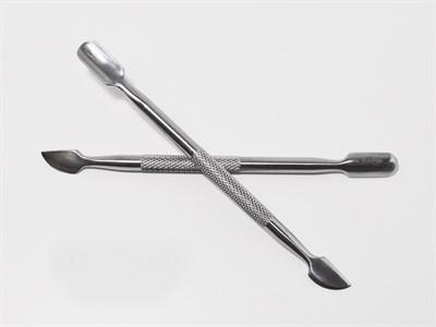 Пушер металлический JN 13.5 см серебро