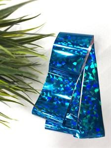 Фольга для литья TNL синие осколки