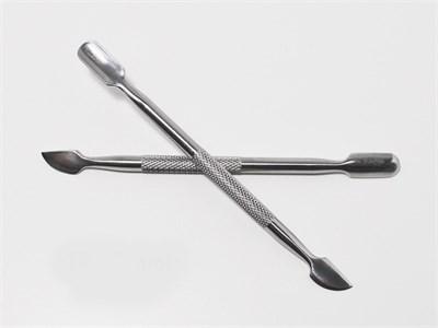 Пушер металлический JN 8.5 см серебро